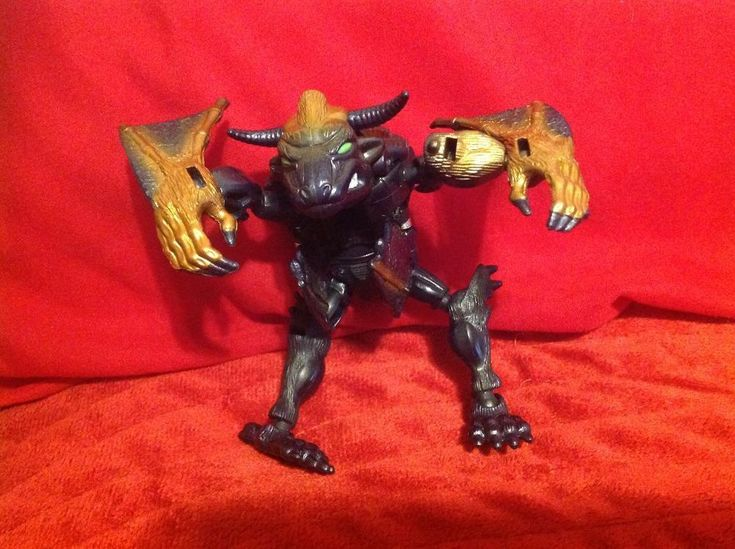 Hasbro Transformers Beast Wars Fuzors Heroic Maximal Brahma Bull Bat Noctorro  #Hasbro