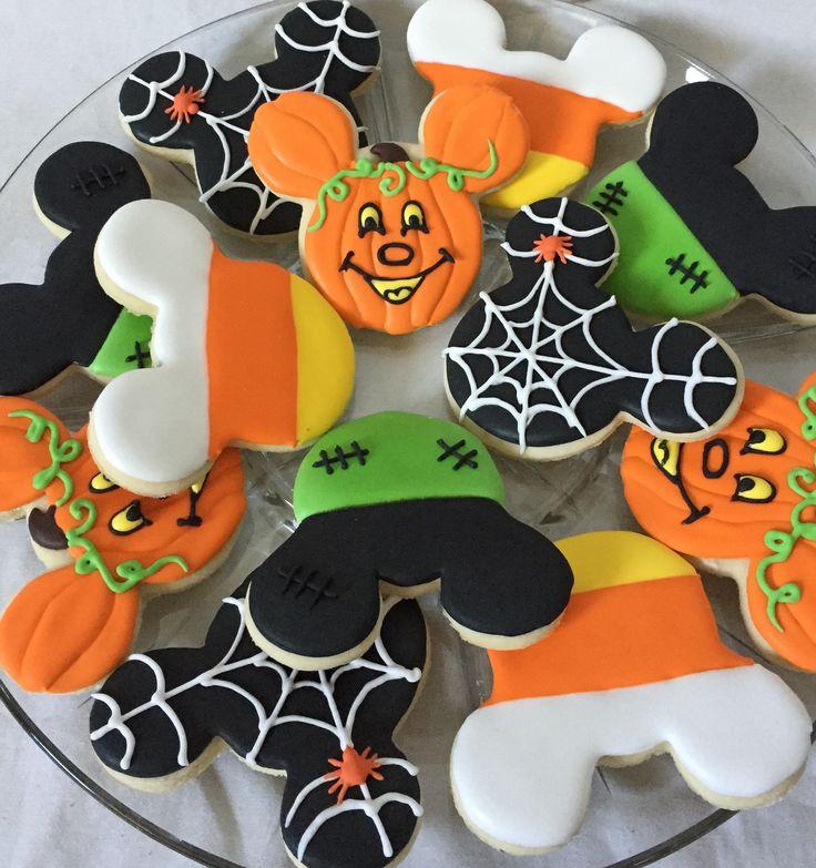 Mickey Mouse Halloween cookies Disney Halloween cookies