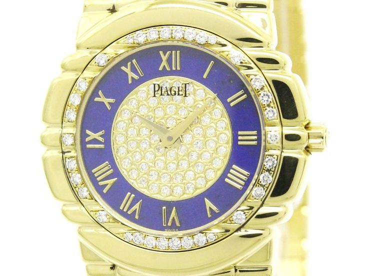 Polished #PIAGET Tanagra Diamond K18 Gold Quartz Mens Watch 17043 M401D (BF302526 #eLADY global offers free shipping worldwide. For more pre-owned luxury brand items, visit http://global.elady.com