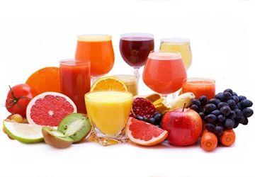 Cure de jus de fruits et de légumes