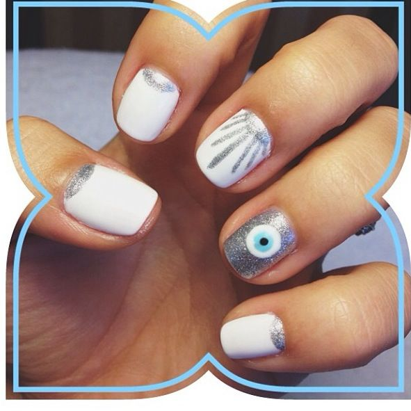 Evil eye nail art - Best 25+ Evil Eye Nails Ideas On Pinterest Evil Eye Art, Evil