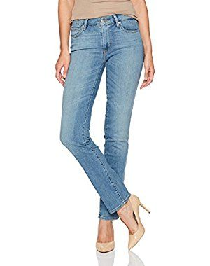 Levi's Women's 714 Straight Jeans, High Tide, 27 (US 4) R
