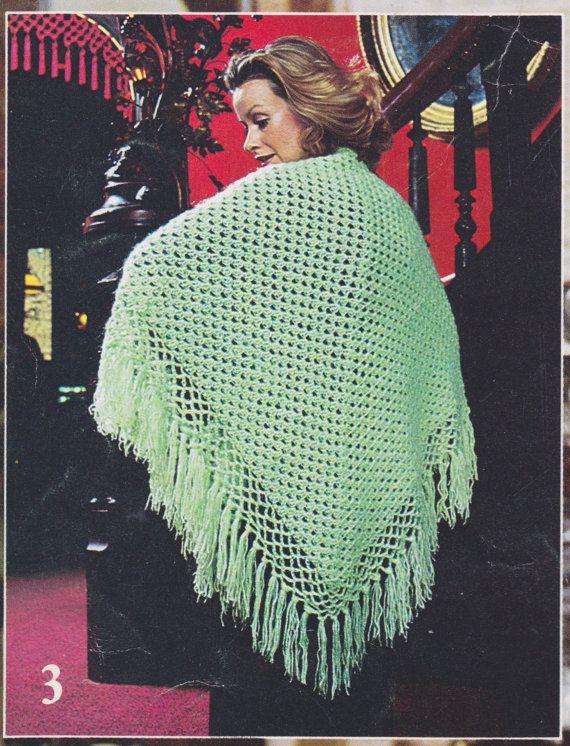 410 best crochet - shawls images on Pinterest | Etsy shop ...