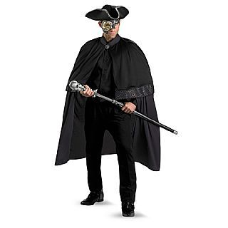Mens Adult Deluxe Venetian Masquerade Phantom Of The Opera Costume Outfit  sc 1 st  Pinterest & The 32 best Our Twisted Masquerade Inspiration images on Pinterest ...