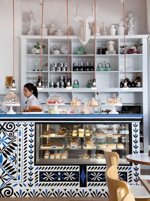 Pretty pastry case | Pehache Café | Buenos Aires