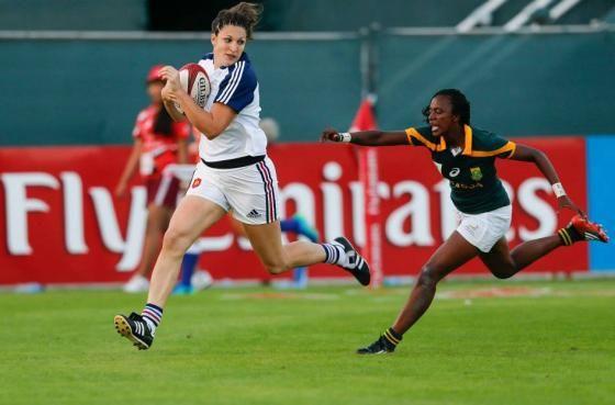 Lenaïg Corson, rugbywomen, en route pour les Jeux Olympiques 2016 - Jactiv Ouest-France - 25/01/2016