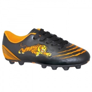 SALE - Trax Tiger Soccer Cleats Kids Black Synthetic - Was $20.99 - SAVE $3.00. BUY Now - ONLY $17.99
