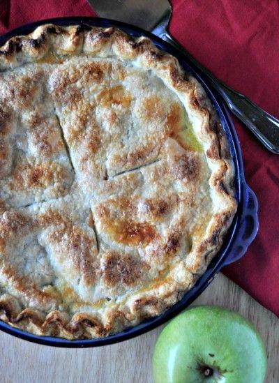Caramelized Apple Pie Recipe