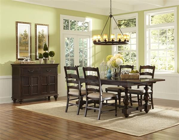 Shop For The Magnussen Home Loren Casual Dining Room Group At VanDrie Furnishings