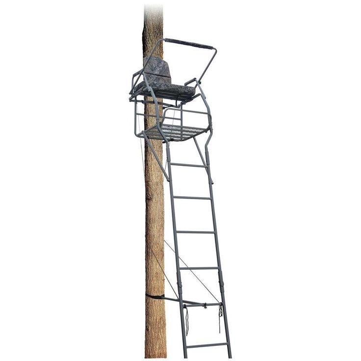 18' Jumbo Ladder Tree Stand Hunting Accessories #GG
