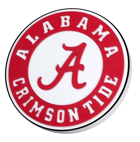 Alabama Crimson Tide 3d Foam Logo Alabama Crimson Tide Logo Tide Logo Alabama Crimson Tide Football
