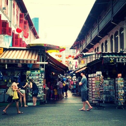 chinatown market , singapore