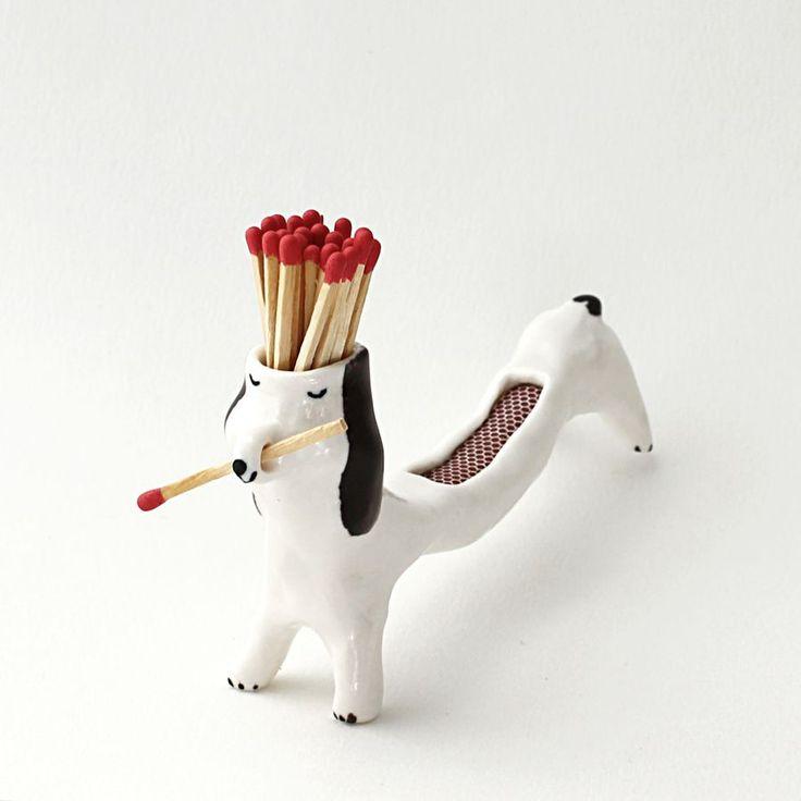 matchstick dog