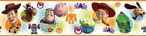 Roommates Rmk1429Bcs Toy Story 3 Peel and Stick Wall Border * Final call for this special discount  : Christmas Home Decor