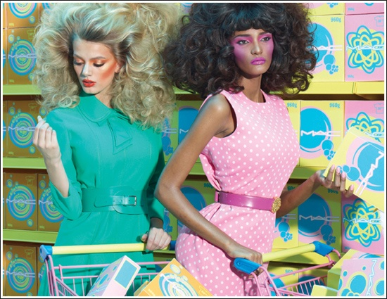 Shop M∙A∙C, Cook M∙A∙C Spring 2012 Collection ~ I LOVE the Promo Ads for this collection.