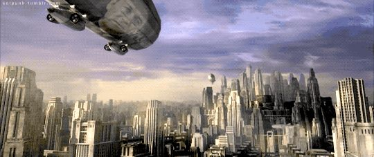 Libria, a dystopian city-state.    Equilibrium (2002) - Cyberpunk Movies & Dystopian Future