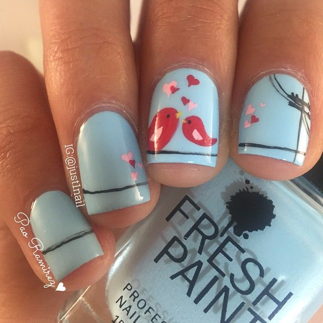 Best 25 bird nail art ideas on pinterest divergent nails instagram post by paula just1nail crazy nail artcrazy prinsesfo Images