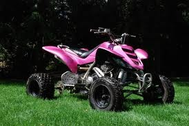 pink atv!! if I ever learn to ride one