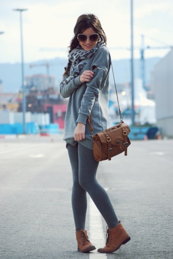Grey cardigan leggings | Outfits u0026 Stuff | Pinterest | Grey cardigan Grey and Style