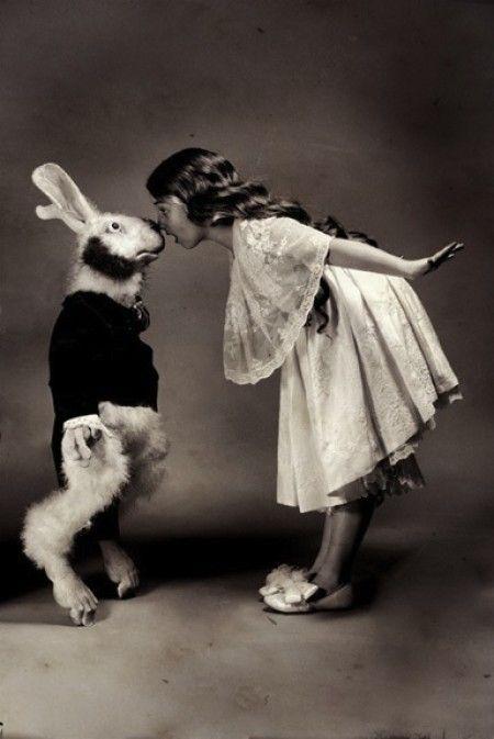 """""""Alice in Wonderland""""   Photographer: Vladamir Clavijo-Telepnev, 2008"""