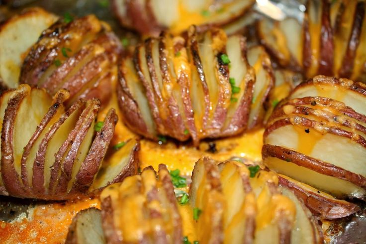 Sunshine Coast Olive Oil Co. | Roasted Hasselback Potatoes With Garlic Infused Olive Oil