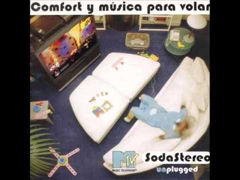 Soda Stereo - Comfort y Música para Volar [Disco Completo HQ]