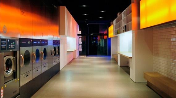 Laverie splash Barcelone   1- Design | Journal du Design