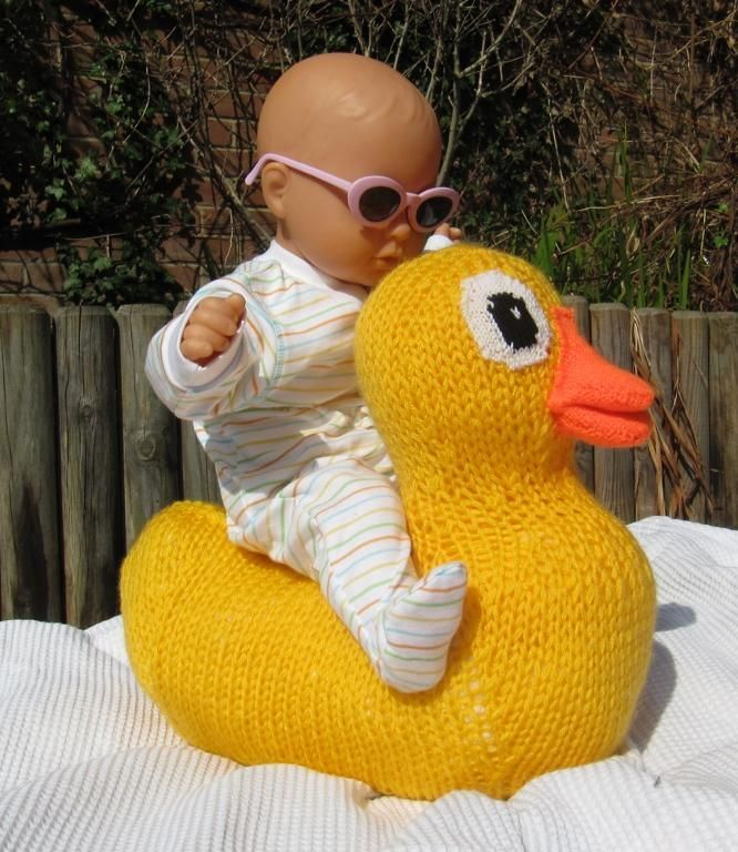 Giant Rubber Duck (Ducky) Toy Animal