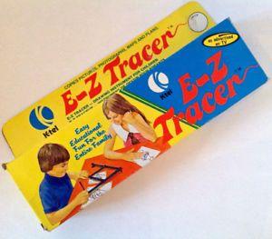 Vintage 1974. Collection. Jouet ancien. E-Z Tracer de K-Tel