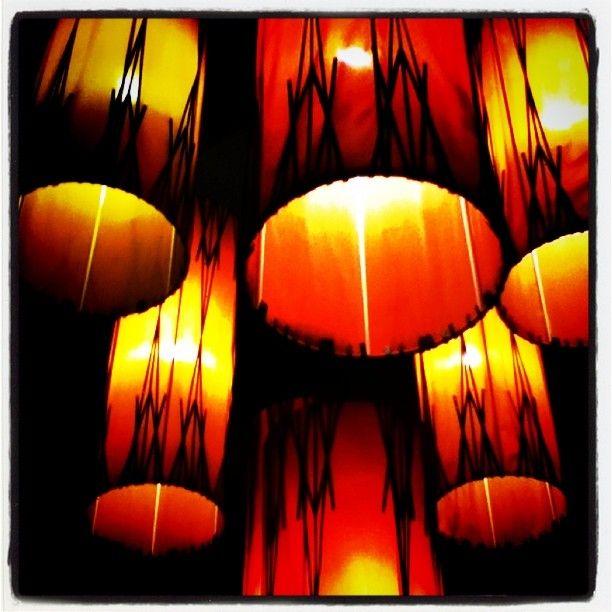 Lampshades at the holiday inn express, jumeirah road, Dubai