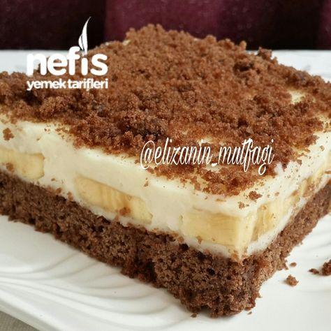Kremalı Muzlu Pasta