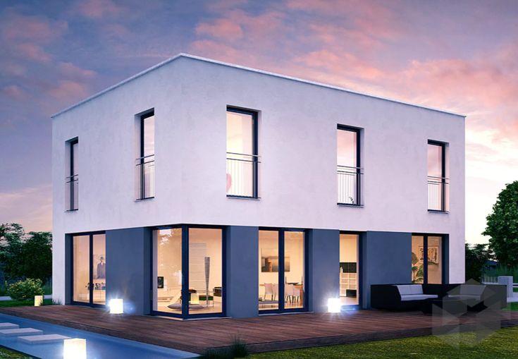 46 besten einfamilienh user bilder auf pinterest. Black Bedroom Furniture Sets. Home Design Ideas