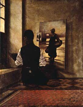 Ali Akbar Yasami, Painter, 1923.