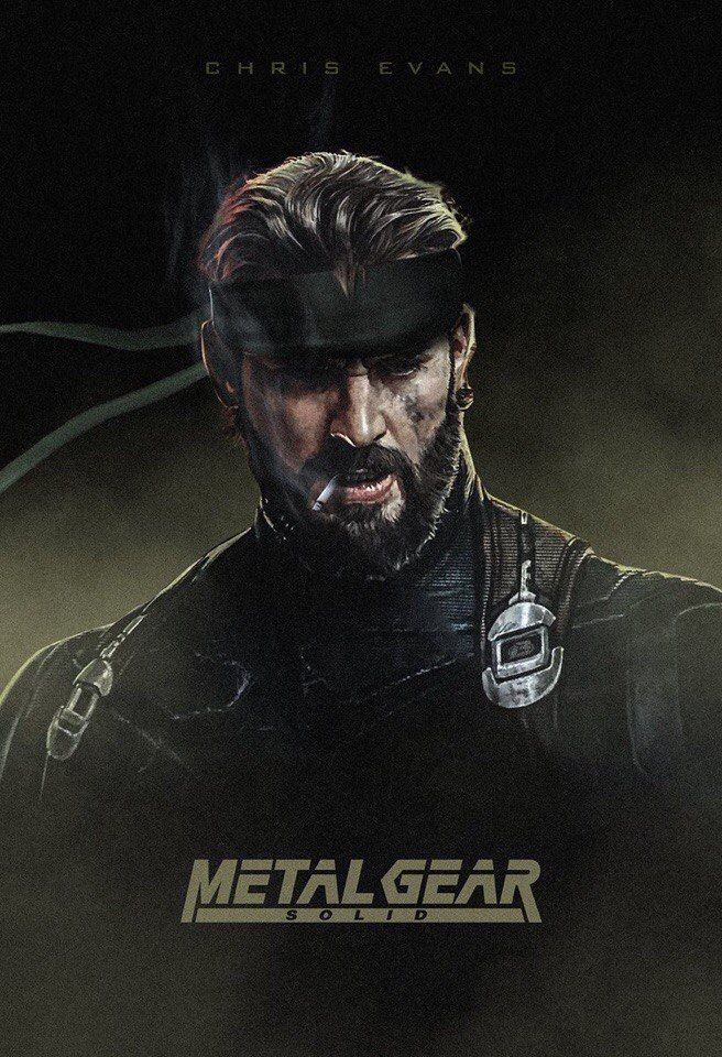 Looks like Chris Evans. Metal Gear Solid.