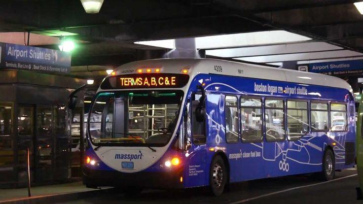 Massport shuttle buses, Boston Logan International Airport