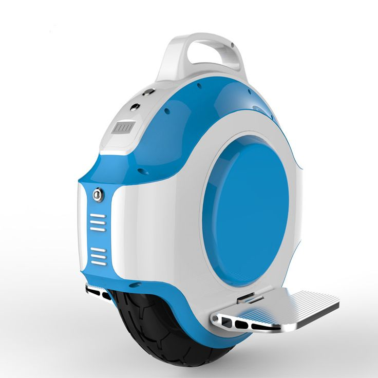 Electric unicycle motorized skateboard hoverboard unicycle