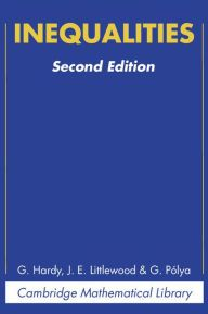 Inequalities / Edition 2 by G. H. Hardy, J. E. Littlewood, G. Polya Download