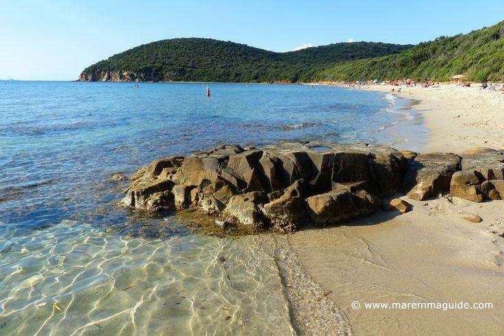 Cala Violina beach in Maremma Tuscany in September :)