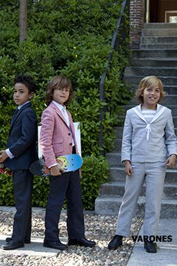 Niñas y Niños de Moda: Varones - Ropa de Primera Comunión y Ceremonia para Niños 2013