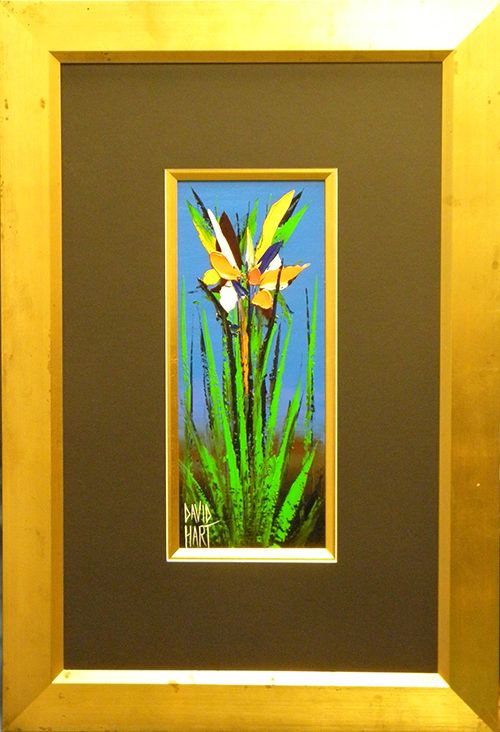 David Hart Original Painting from the Wild Orchid series - Pawnbank