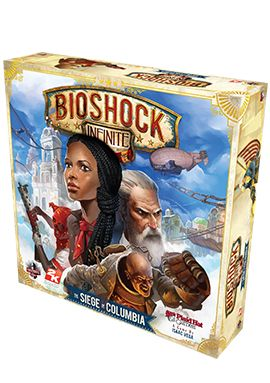 BioShock Infinite: The Siege of Columbia Board Game via the Irrational Games Store.