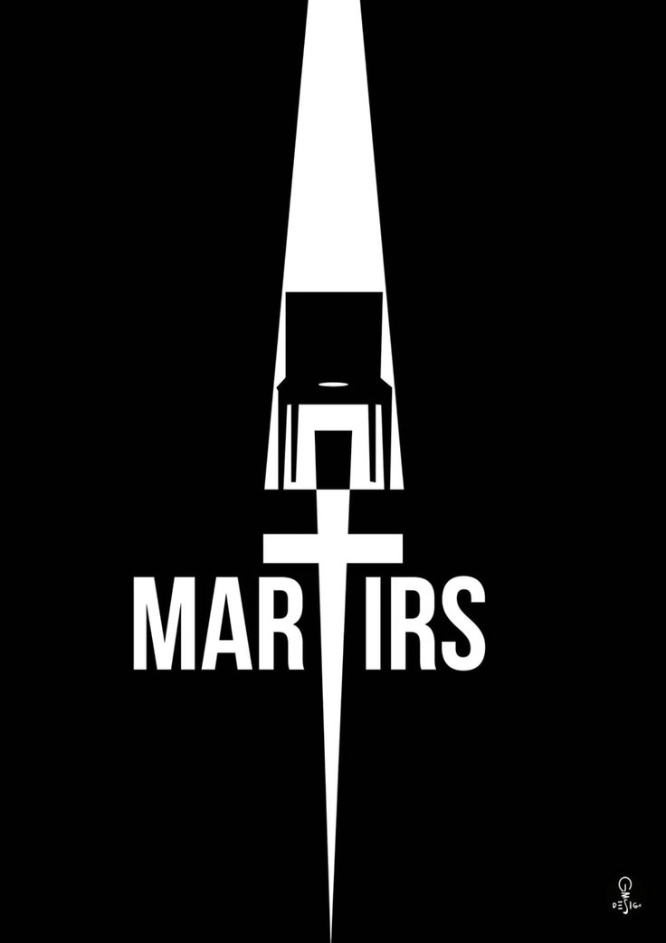Minimal poster tribute for MARTYRS (the movie - 2008)  Thx for watching.  Gms Design