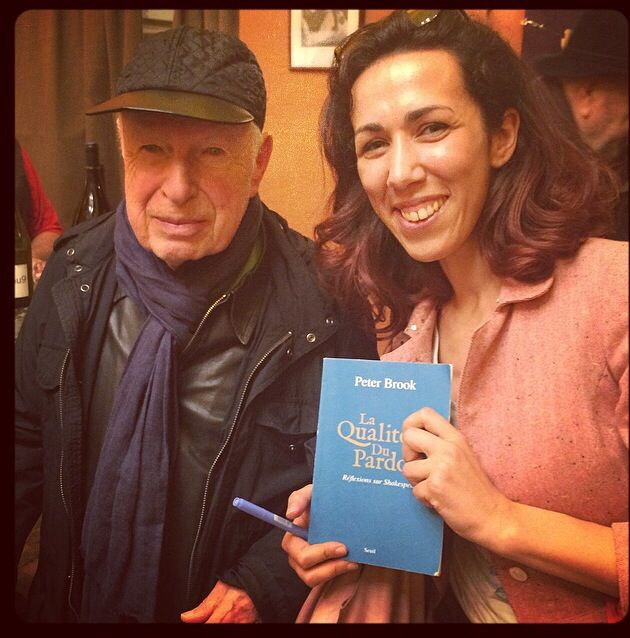 """The quality of mercy"". À La Maison de la poésie avec Peter Brook."