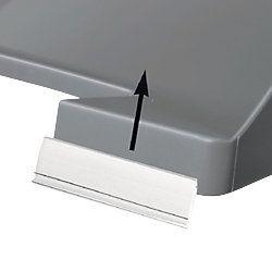 Office Depot Etiketten voor brievenbakjes Transparant 60 x 14 mm 10 Stuks 10 Stuks
