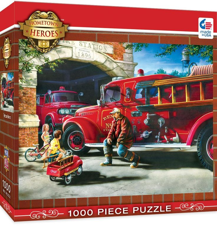 Firehouse Dreams - 1000 Teile - MASTER PIECES
