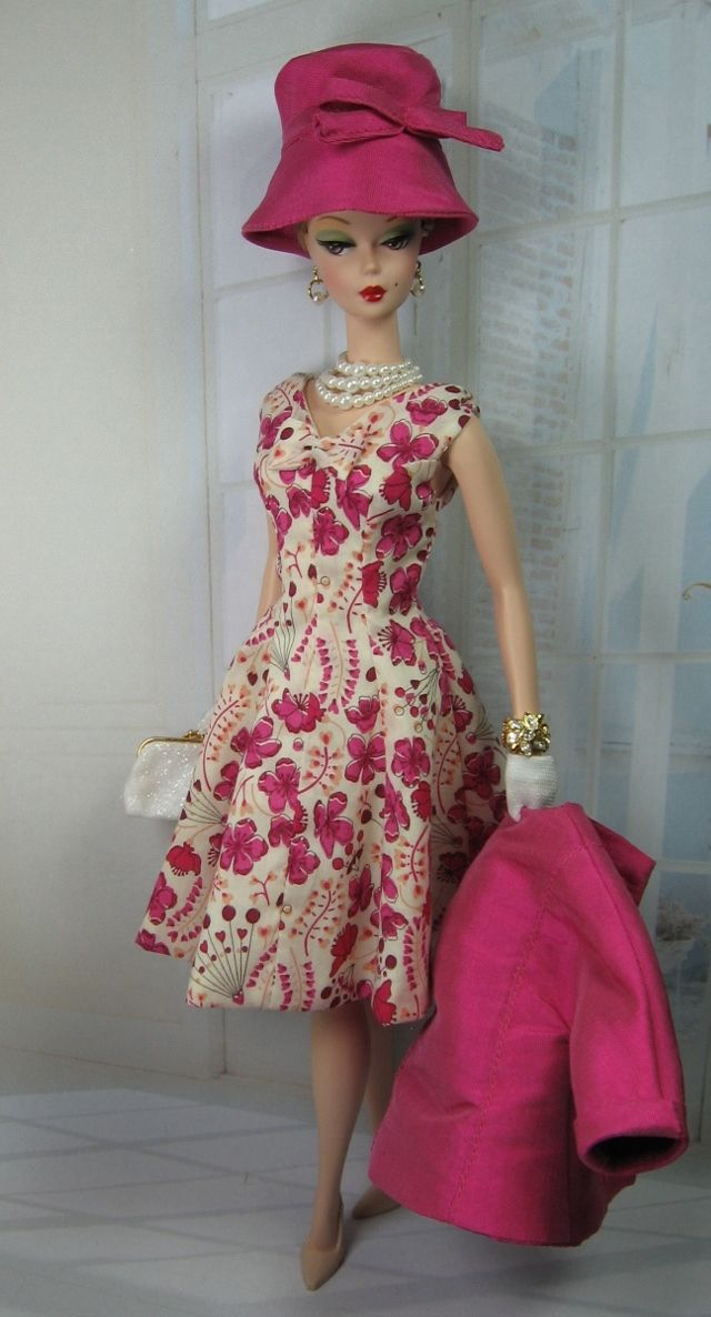 In Love for Silkstone Barbie and Victoire Roux on Etsy now