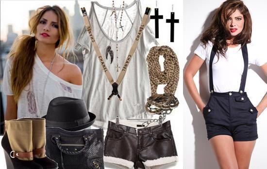 Коллекции с чем носить шорты на подтяжках