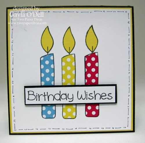 Make a Wish...Back in Stock! - Two Paper Divas
