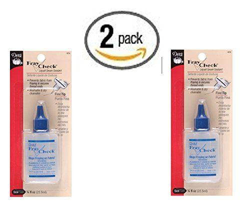 Dritz Fray Check Liquid Seam Sealant, 0.75 oz. 2 pack Dritz ...amazon.com