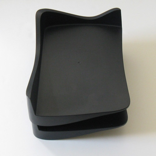 Sottsass Era - Hani Rashid Sculptural Parq Stackable Desk Trays - Alessi - 2006